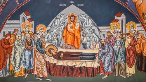 Patriarhul Daniel Adormirea Maicii Domnului