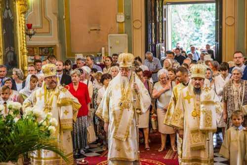 Slujire PF sava al Poloniei de hramul catedralei din Varşovia