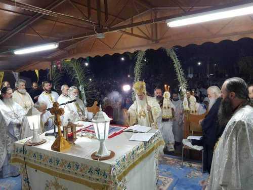 Slujire Patriarhul Ierusalimului pe Muntele Taborului (4)