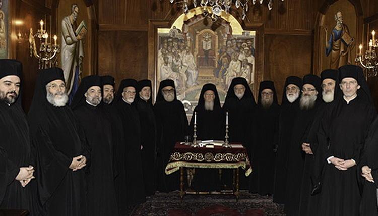 Imagini pentru sinodul bisericii constantinopolului