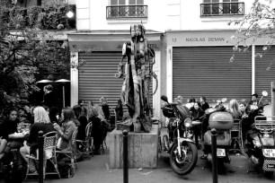 Cafe society, Saint Germain des Prés