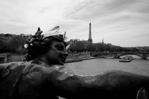 La Tour Eiffel from Le Pont Alexandre III