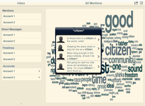 Resonate Word Cloud Selection