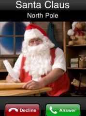 Santa phone
