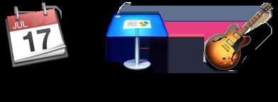 Mac App icons comparison