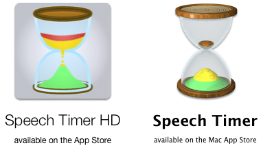 Speech Timer Icons