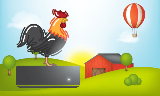 Rooster App Store Icon