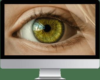 Retina display illustration
