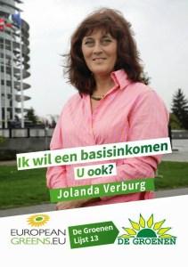 De Groenen Poster Jolanda