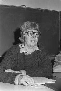 Saar Boerlage in 1987