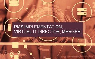 PMS Implementation, Virtual IT Director & Merger