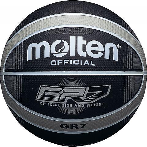 Molten Basketbal BGR7 Zwart Zilver