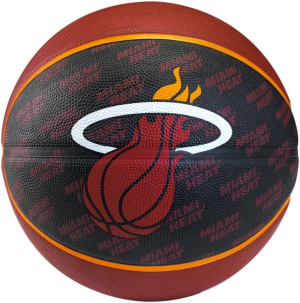Spalding Basketbal NBA Miami Heat zwart/oranje