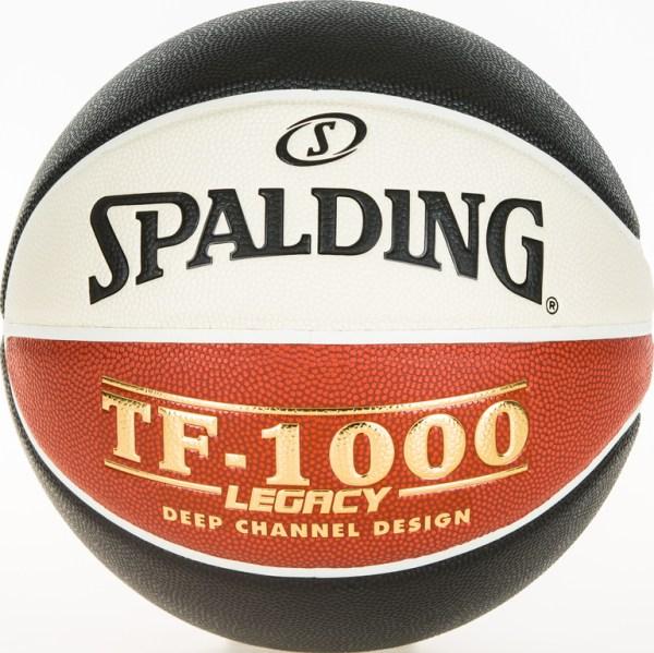 Spalding Basketbal TF1000 Legacy LNB wit oranje zwart