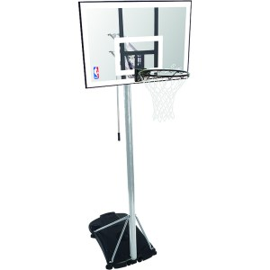 Spalding Portable Basketbal System NBA SILVER 59-472CN