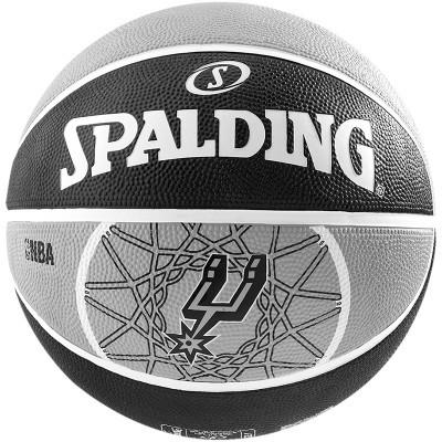 Spalding basketbal NBA San Antonio Spurs Zwart/Grijs
