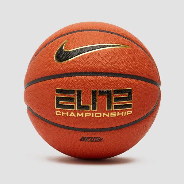 Nike Nike elite championship 8 basketbal oranje/zwart heren