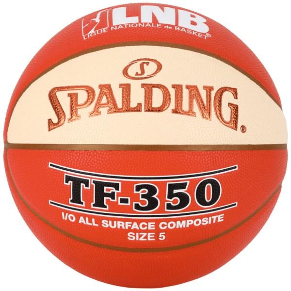 Spalding basketbal LNB TF350 Oranje wit maat 5