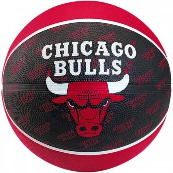 Spalding Basketbal NBA Chicago Bulls Rood zwart