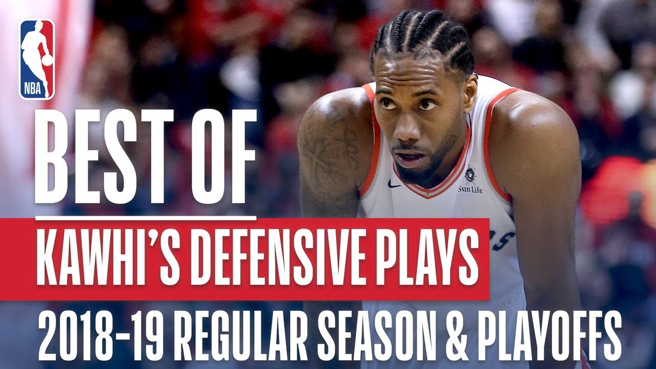 Kawhi Leonard's Best Defensive Plays! | 2018-19 NBA Regular Season & Playoffs