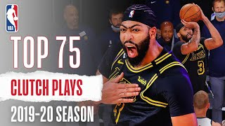 NBA Top 75 CLUTCH PLAYS From The 2019-20 Season | AD, Luka, Butler AND MORE