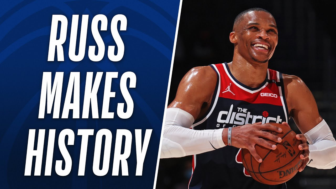 Russ Becomes the ALL-TIME Triple-Double Leader in NBA HISTORY! 🔝🔥