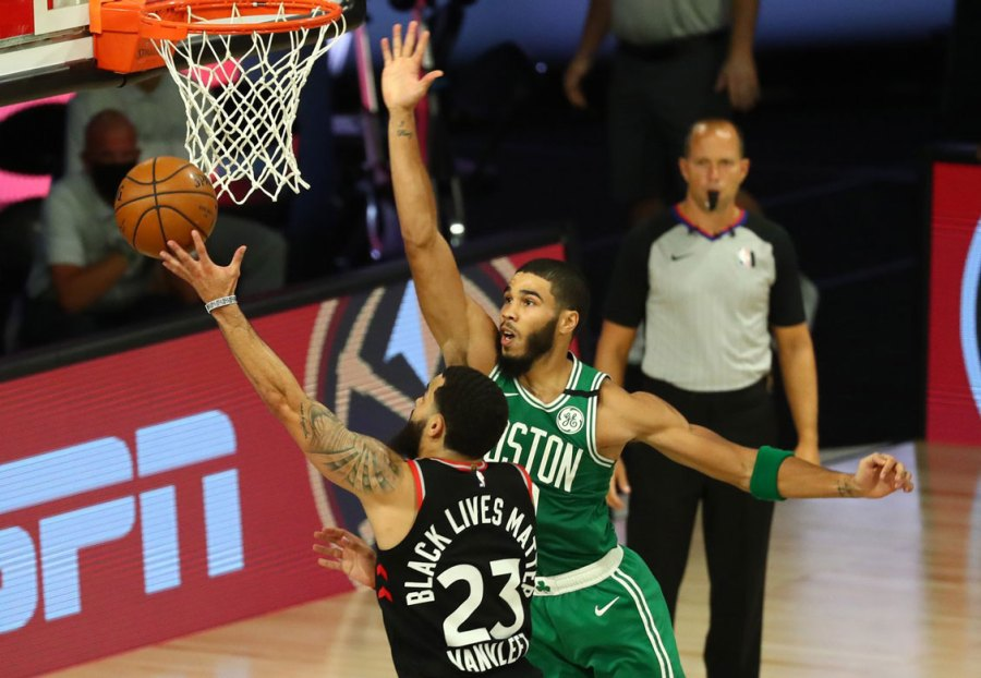 Raptors outlast Celtics in thrilling double-Overtime Game 6 - BasketballBuzz