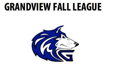 Grandview Fall League Schedule