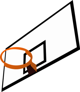 Basketball Backboard and Rim