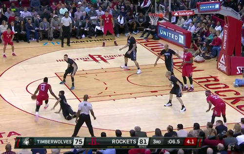 James Harden Nasty Crossover