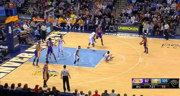 Dwight Buycks Nasty Crossover Break Gary Harris Ankles