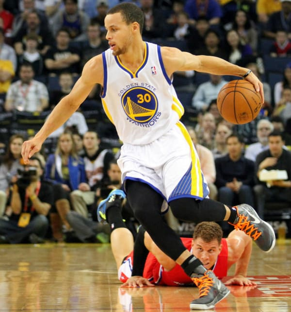 Stephen Curry Crossovers