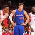 Dwight Howard, Blake Griffin, and James Harden