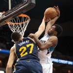 USP NBA: UTAH JAZZ AT MINNESOTA TIMBERWOLVES S BKN USA MN