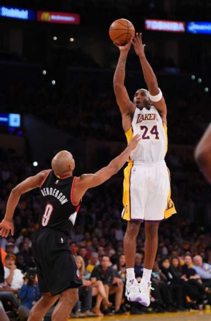 Kobe Bryant, Gerald Henderson