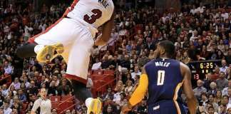Miami Heat, Indiana Pacers, Dwyane Wade, CJ Miles