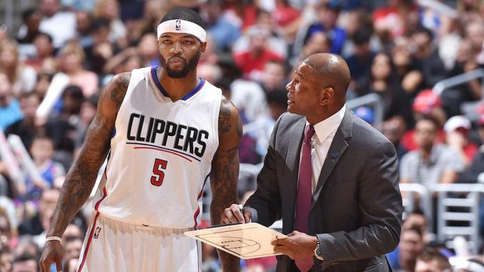 Josh Smith and Doc Rivers