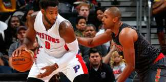 Andre Drummond and Al Horford