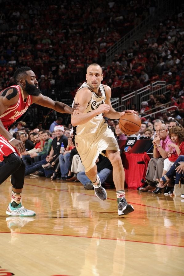 San Antonio Spurs, Houston Rockets, Manu Ginobili, James Harden