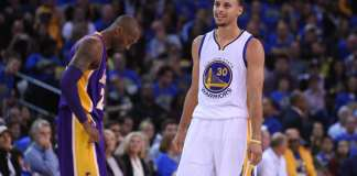 Kobe Bryant and Stephen Curry