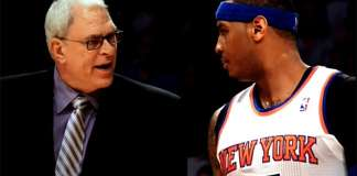 Phil Jackson, Carmelo Anthony