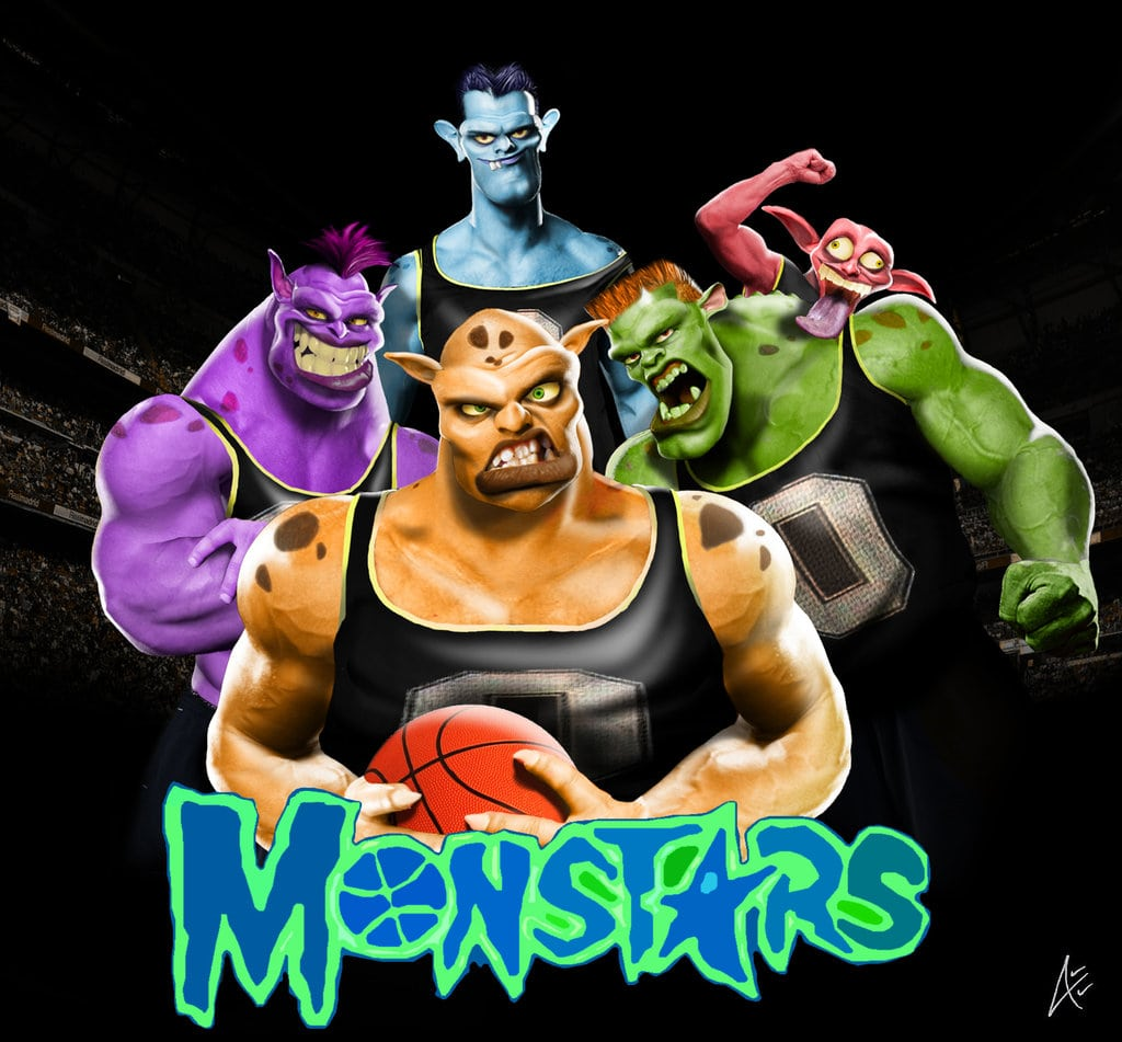 c27c318083f My Monstars squad for Space Jam 2