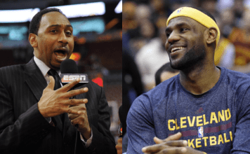 Stephen A. Smith & LeBron James