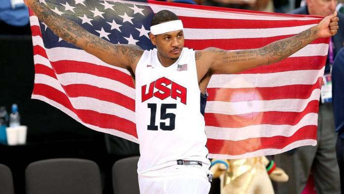 Team USA, USA Basketball, Carmelo Anthony
