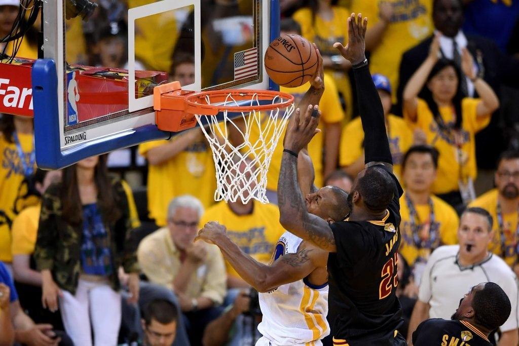 Cleveland Cavaliers, Golden State Warriors, LeBron James, Andre Iguodala