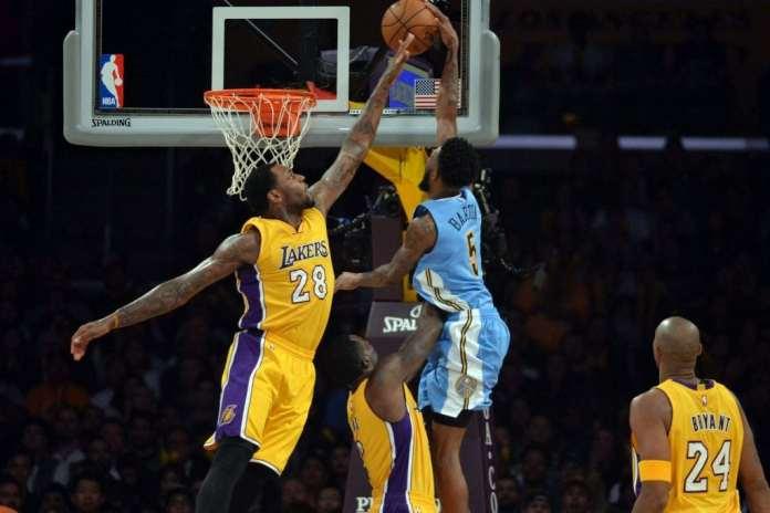Los Angeles Lakers, Denver Nuggets, Tarik Black