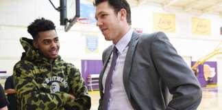 Luke Walton, D'Angelo Russell, Los Angeles Lakers