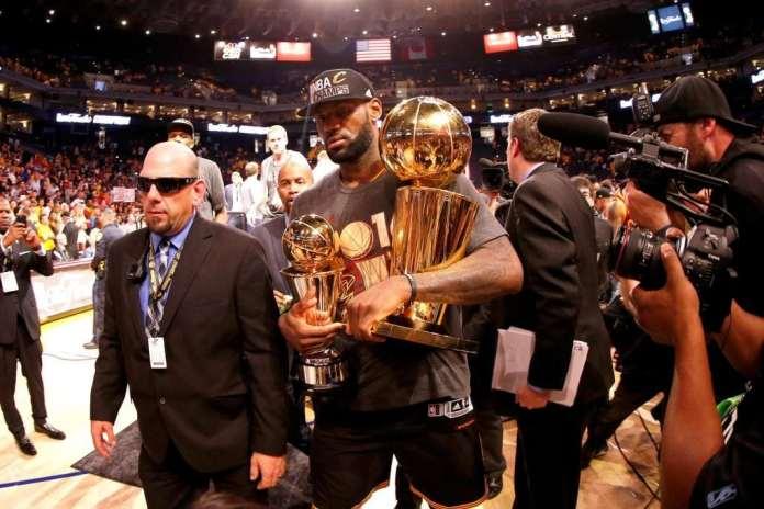 Cleveland Cavaliers, LeBron James, 2016 NBA Finals