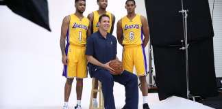 Los Angeles Lakers, Luke Walton, D'Angelo Russell, Brandon Ingram, Jordan Clarkson,