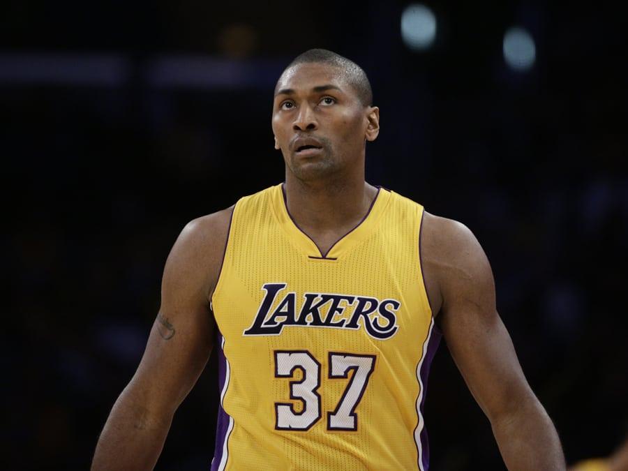 Los Angeles Lakers, Metta World Peace